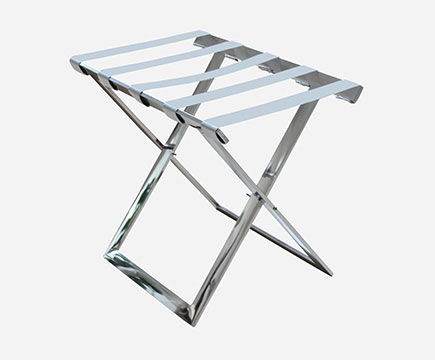 MAX-LR01A Hotels Stainless Steel Folding Strong Metal Bagaż Rack/Bagaż Rack